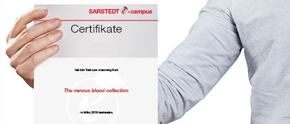 Receive your personal certificate